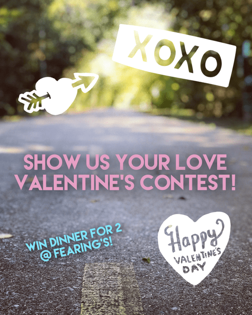 Vday contest poster