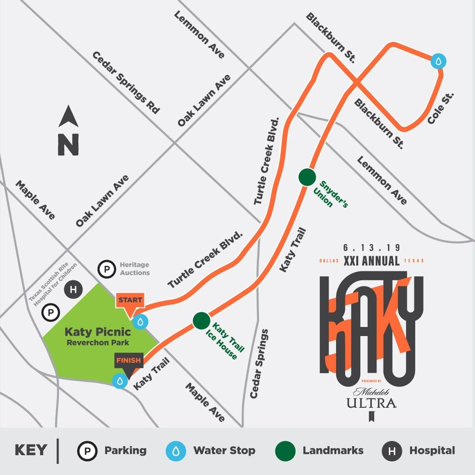 Map Of Texas Katy.Katy 5k Katy Trail